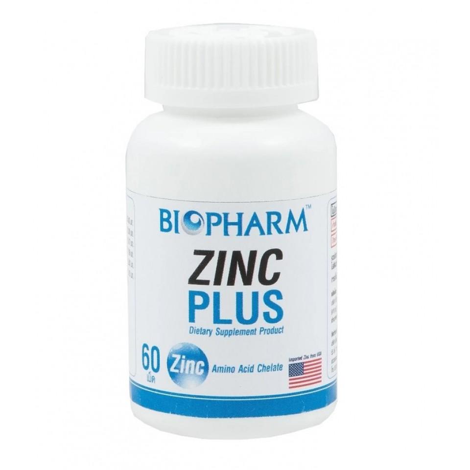 Biopharm Zinc Plus 60 เม็ด